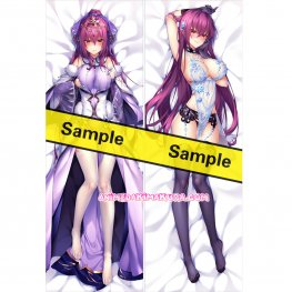 Fate/Grand Order Dakimakura Scathach Body Pillow Case 04