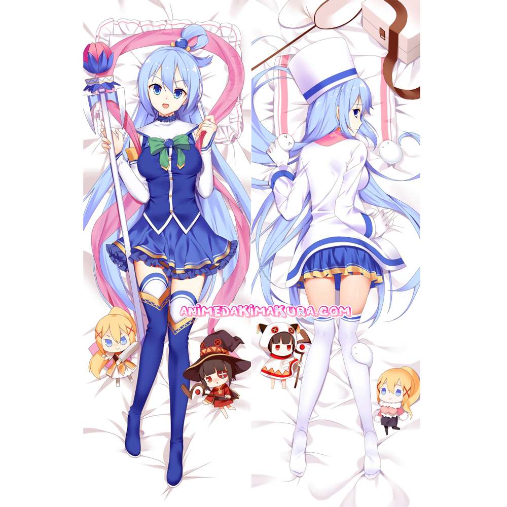 KonoSuba Dakimakura Aqua Body Pillow Case 03